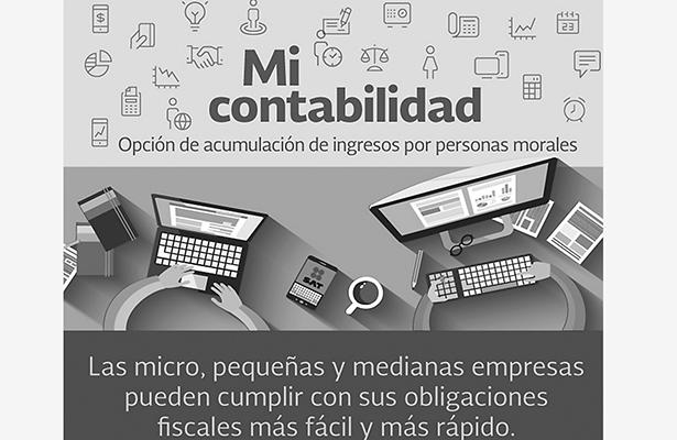 """Van 15 mil empresas registradas  en herramienta """"Mi Contabilidad"""""""