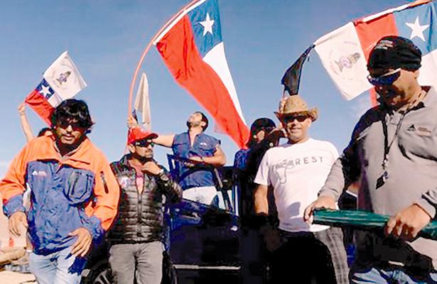 Mina Escondida en Chile denuncia actos violentos en medio de huelga