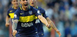 Benedetto marcó dos y Boca es líder