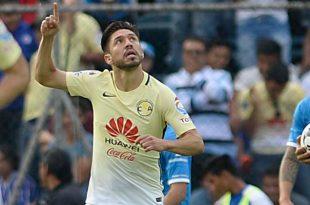 Oribe Peralta llegó a 150 goles en la Liga MX
