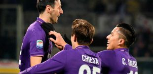 Salcedo termina la temporada de titular en el empate del Fiorentina