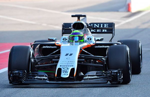 Force India somete a rigurosa dieta a 'Checo' Perez