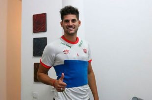 Emiliano Mac Eachen llegó al Necaxa como último refuerzo