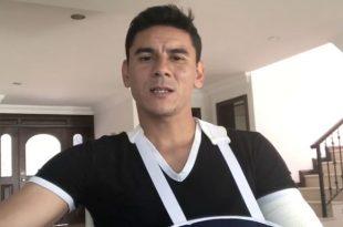 Óscar Ustari envía mensaje a sus fans tras lesión en el brazo