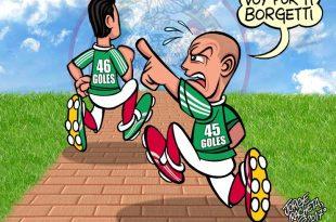 Chicharito va por la marca de Borgetti