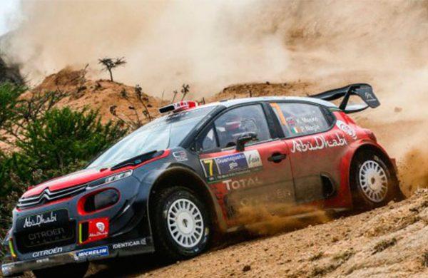 Neuville inicia el Rally México con victoria