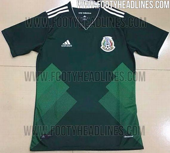 e639718b0620f México tendría nuevo jersey para Confederaciones