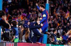 UEFA multa al Barça por invasión de campo ante el PSG