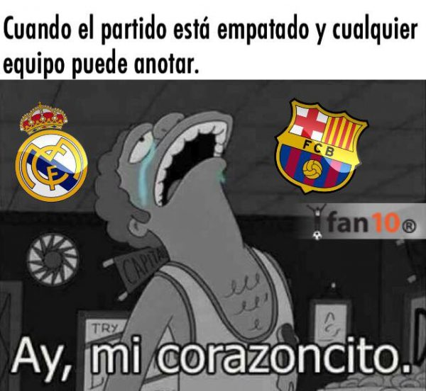 Tottenham Vs Ajax En Vivo Gratis: Memes Real Madrid Vs Barcelona 2018
