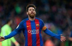 Messi encamina goleada del Barcelona al Osasuna