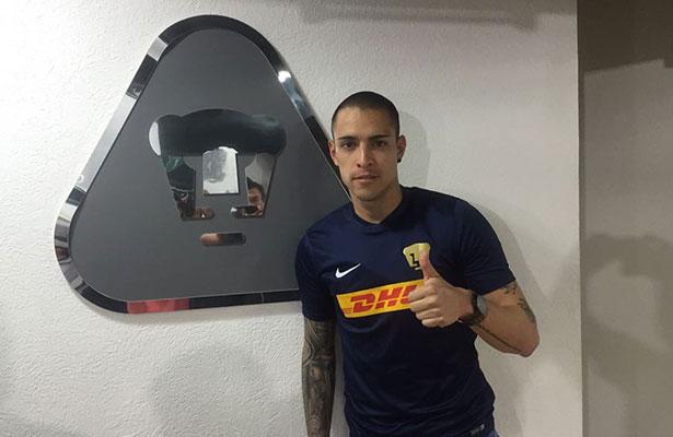 Saldívar quiere consolidarse en Pumas
