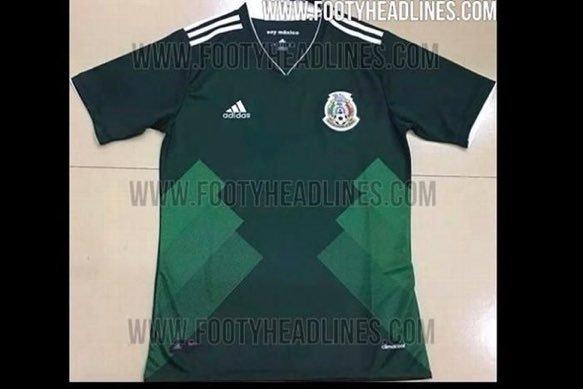 8249e90ab8ad3 ... playeras que la Selección Mexicana usaría en el torneo