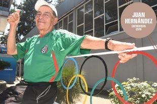 Juan Hernández, de aguador a entrenador olímpico