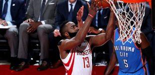 Westbrook no pudo ante los Rockets y Harden