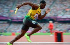 Usain Bolt de visita en México