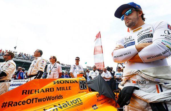 Alonso está con el paso cambiado