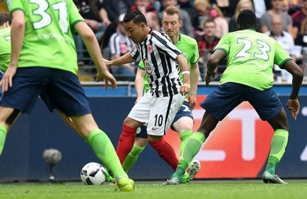 Fabián y Eintracht, cada vez más lejos de Europa League