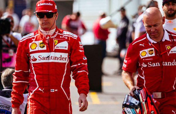 Kimi Raikkonen renovó con Ferrari