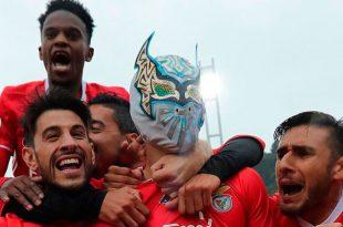 Jiménez anota y lidera al Benfica a conquistar el titulo de copa