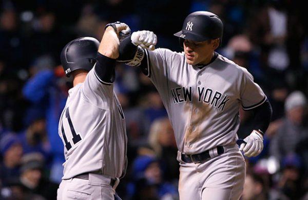 Yankees se llevan maratón histórico y barren serie ante Cachorros