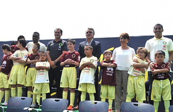 América presenta equipo especial Nido Águila