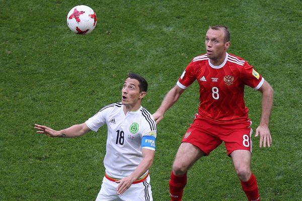 Hirving Lozano es elegido Mejor Jugador del partido México-Rusia
