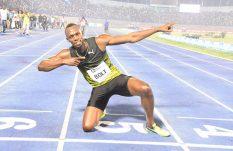 Usain Bolt se impone en su penúltima carrera de 100m