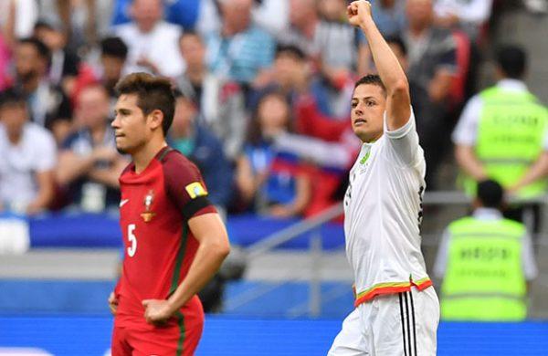 De último minuto, México rescata el empate con Portugal