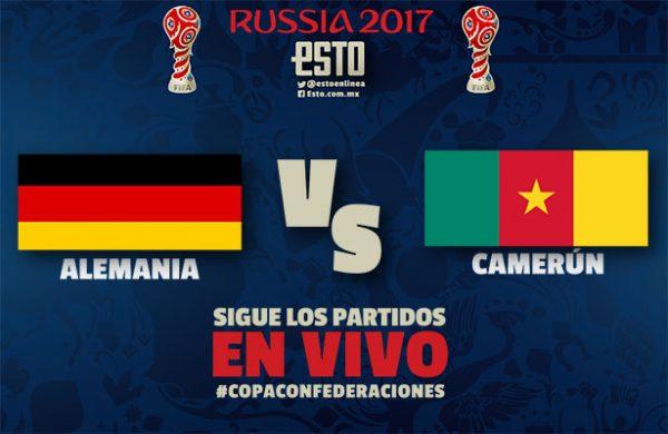 Alemania enfrentará a México tras derrotar a Camerún
