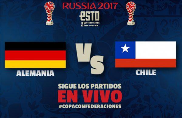 Chile y Alemania empataron 1-1 por la Confederaciones