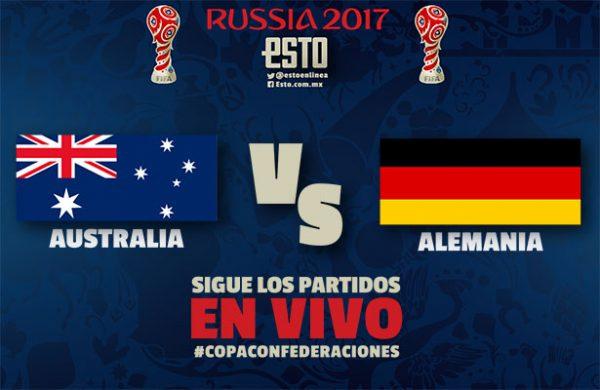 Australia vs Alemania EN VIVO Copa Confederaciones 2017