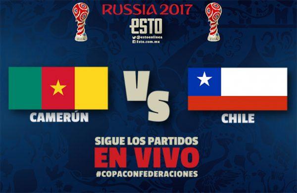 Partidazo: Chile y Alemania chocan en Confederaciones