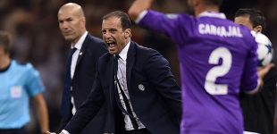 Allegri reveló que rechazó dirigir al Madrid