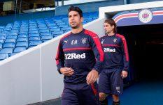 Con Herrera en el campo, el Rangers cedió el subliderato