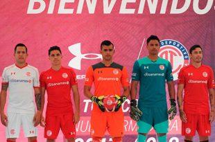 Toluca presentó su armadura para el Apertura 2017