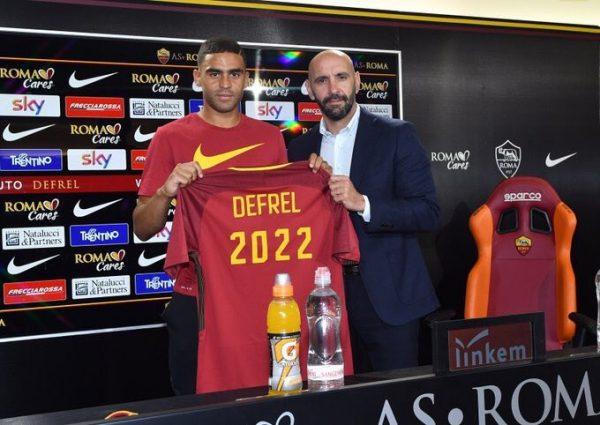 La Roma refuerza su delantera con Defrel