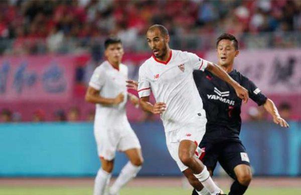 Muriel debutó con gol en Sevilla