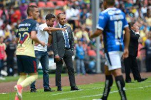 Lozano satisfecho con la victoria ante América