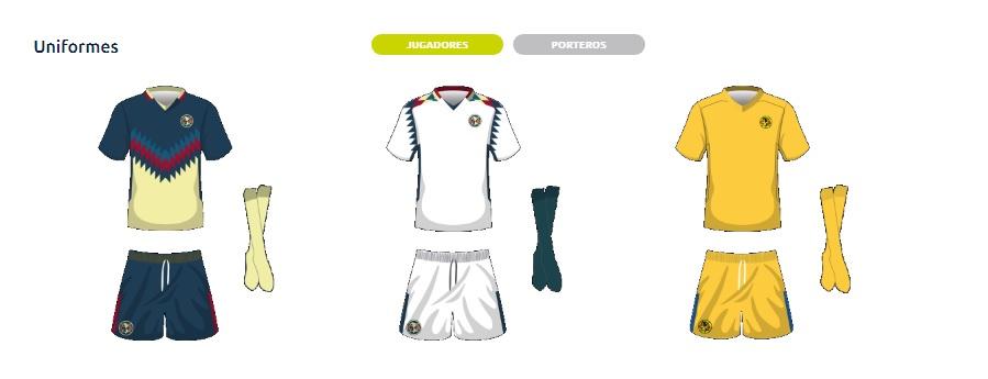 La liga balconea el tercer uniforme de am rica la for Cuarto uniforme del club america