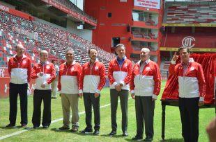 Enrique Peña Nieto reinauguró el estadio Nemesio Díez