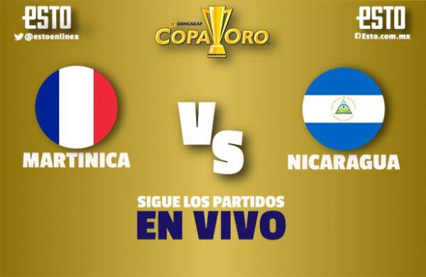 Martinica sorprende a Nicaragua y es líder del grupo B