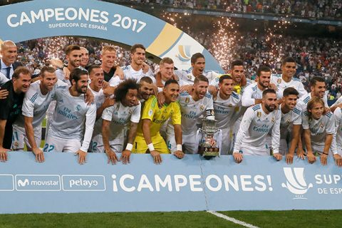 ¡Hala Madrid! Los Merengues conquistaron la Supercopa