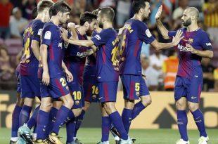 Barcelona debuta en liga con triunfo ante el Betis