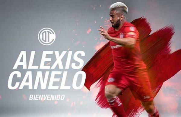 Toluca anuncia fichaje de Alexis Canelo