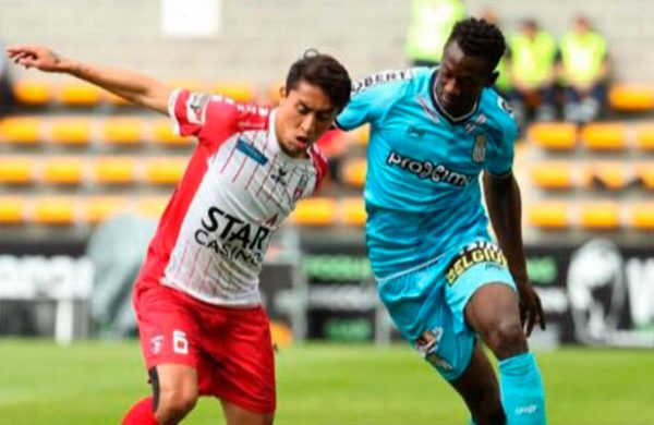 Omar Govea volvió a anotar en Bélgica; su equipo, en Top 4