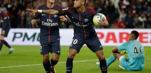 Neymar responde a las expectativas del PSG con doblete