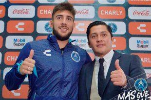 Vine al Puebla para hacer goles porque eso es lo mío: Cavallini