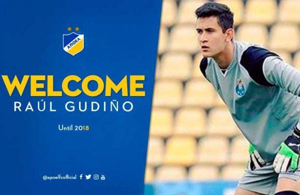 Raúl Gudiño sale del Porto B para jugar Champions League