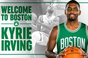¡Bomba! Kyrie Irving, a Celtics; Isaiah Thomas a Cleveland