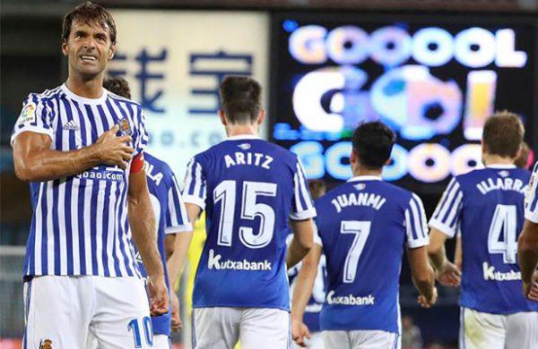 La Real le metió tres al Villarreal